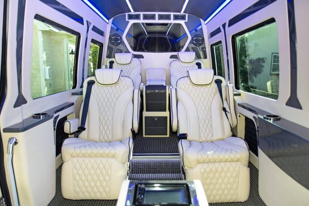 Presidential Limousine Sprinter from Napa Wine Tour