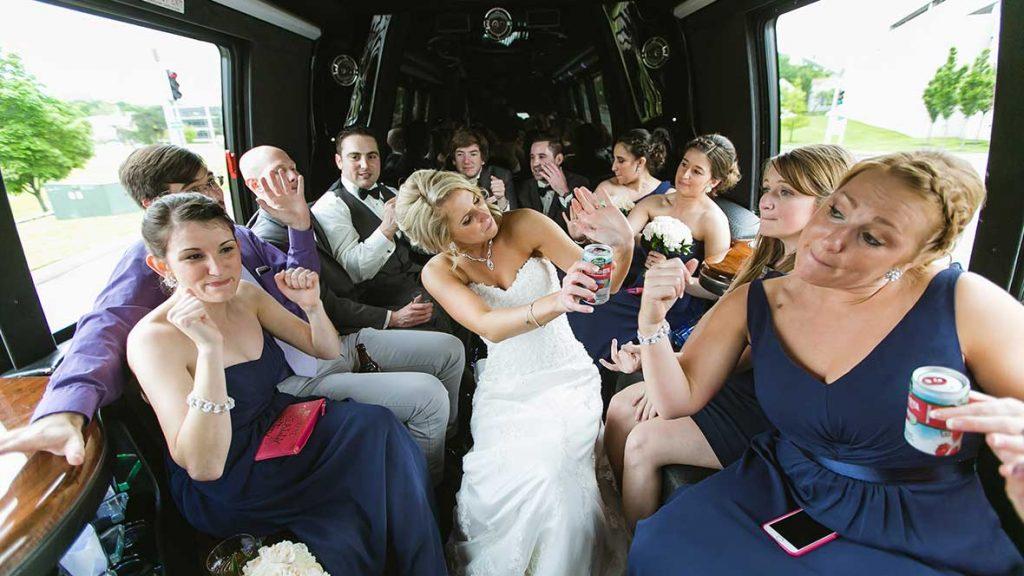 See wedding transportation options